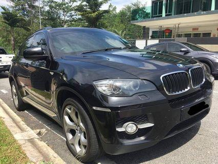 BMW X6 M powered
