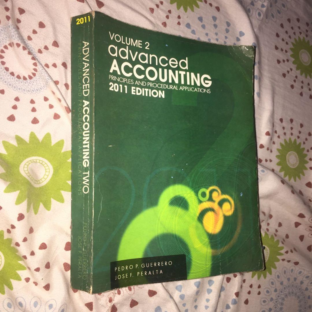 Advanced Accounting Volume 2 (2011 EDITION) with some answers and solutions attached