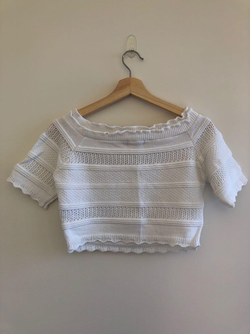 ASOS crochet crop top