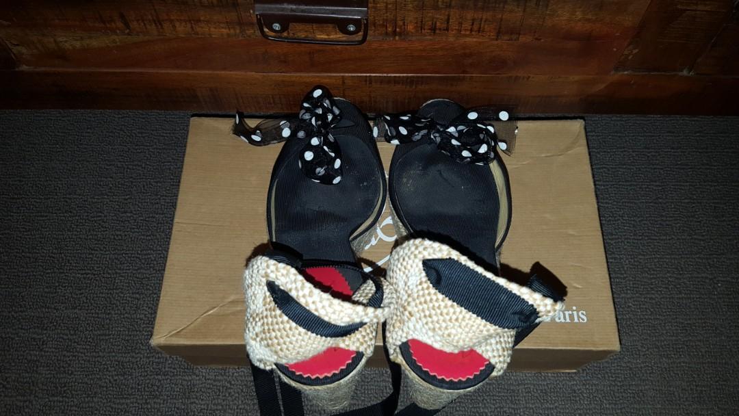 Authentic Christian Louboutin Mini Me espadrilles- size 39