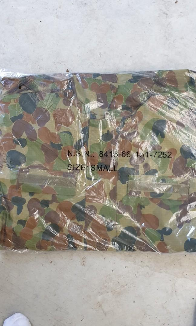 Authentic military rain jackets brand new.2x large 1 x small