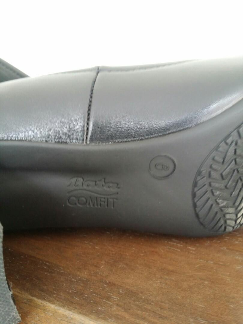 Black formal ofis shoes (inc post)