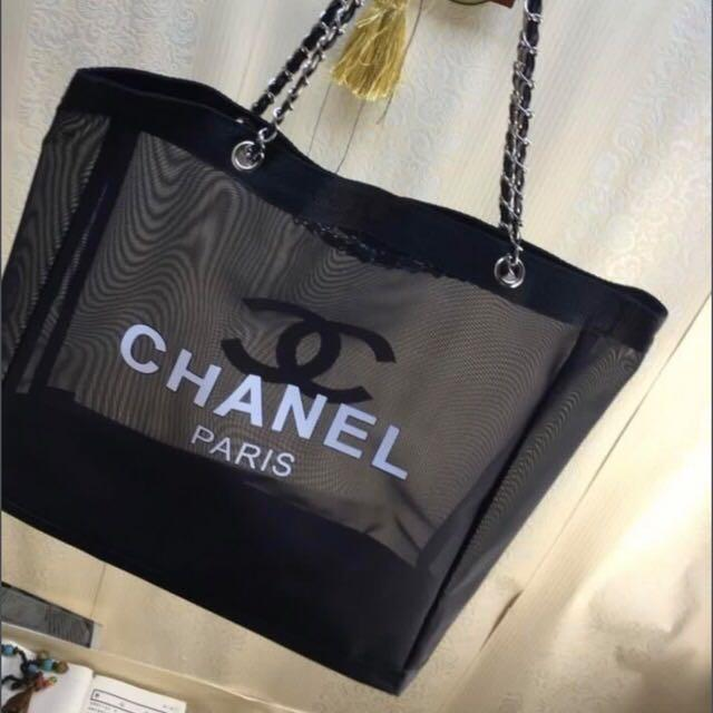 Chanel Mesh Chain tote