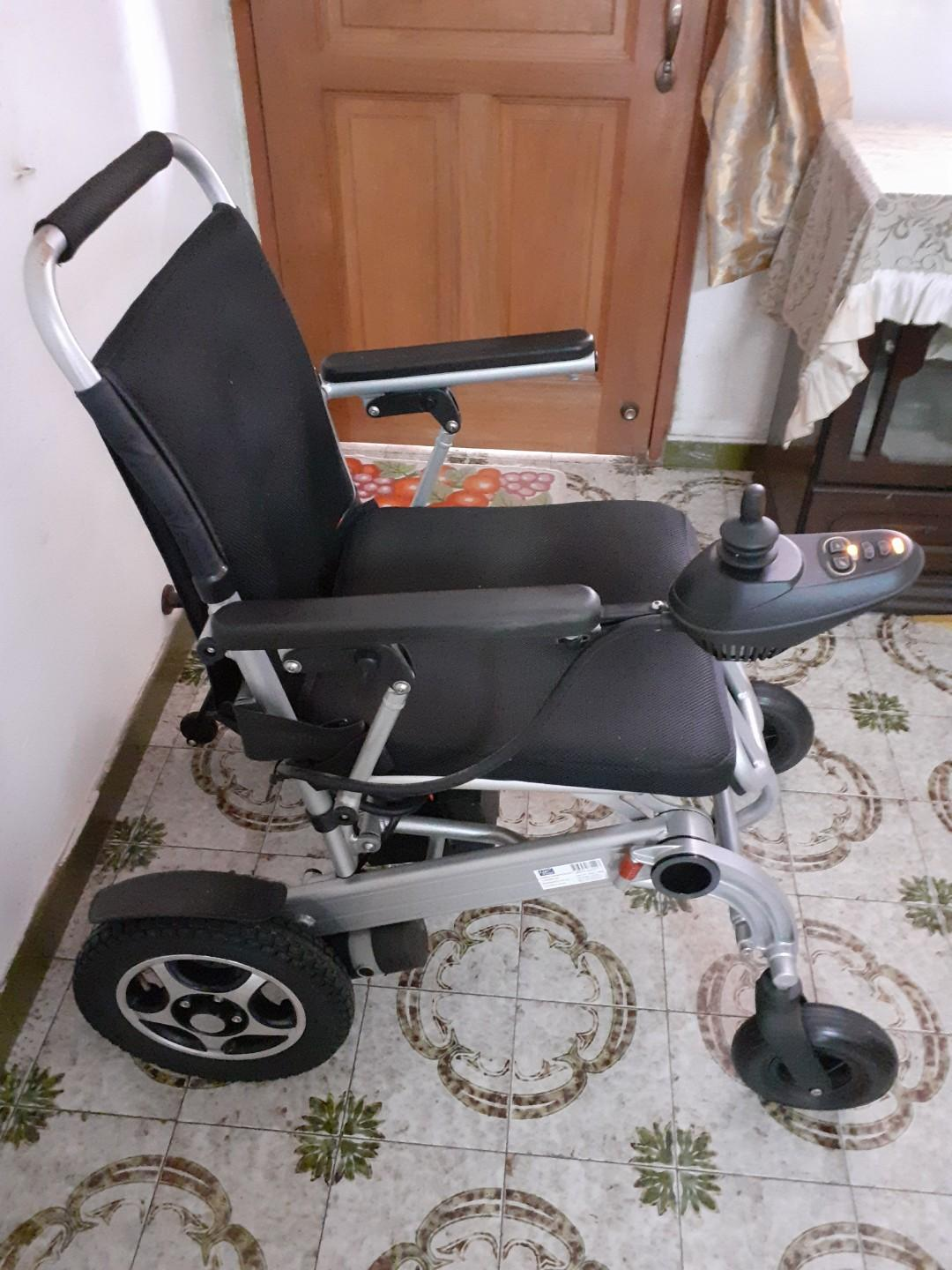 Electric Wheelchair!
