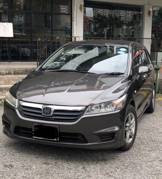 Honda stream mpv phv ready for immediate rental short and Long term available Malaysia use