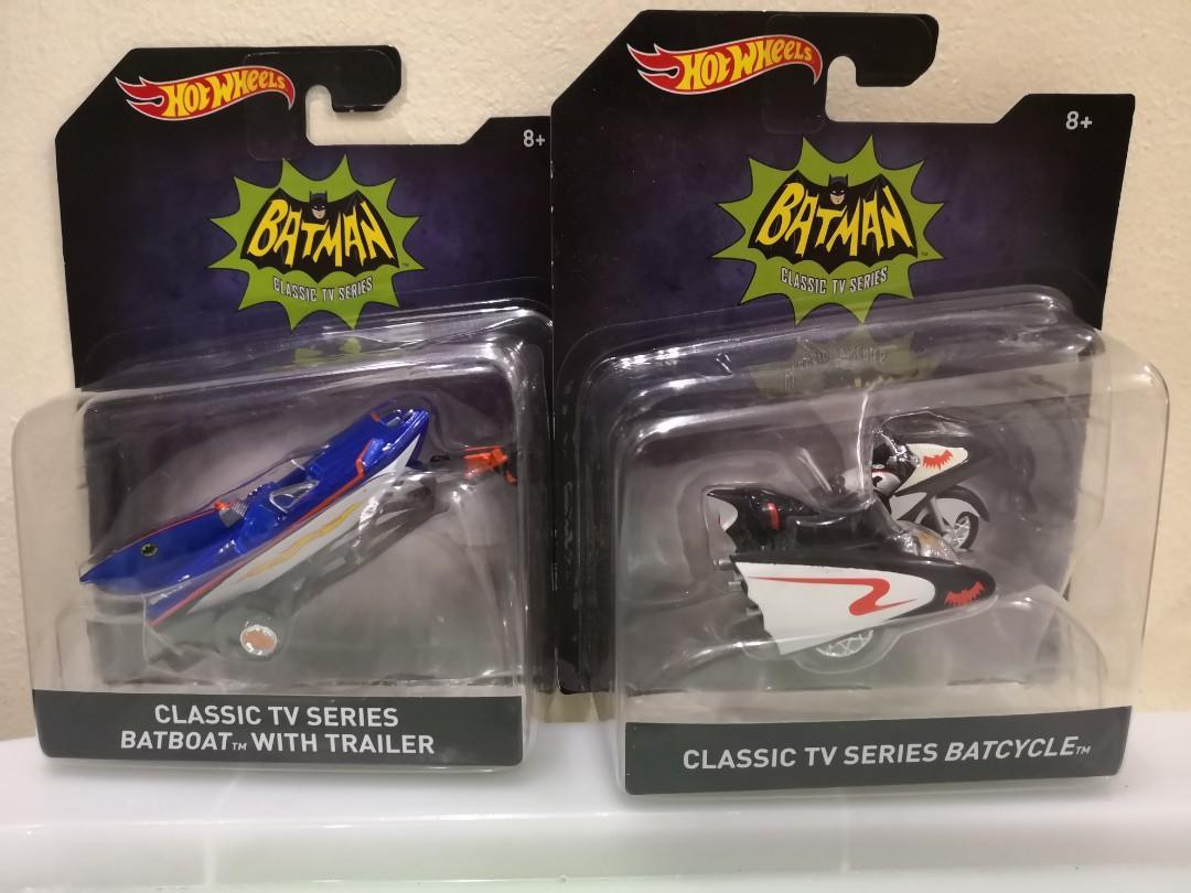 Hotwheels Batman Classic TV Series - Set of 4