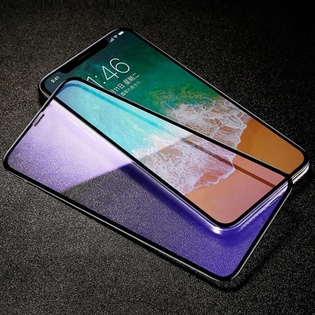 iPhone 11 / iPhone 11 Pro Max Anti Blue Ray Tempered Glass