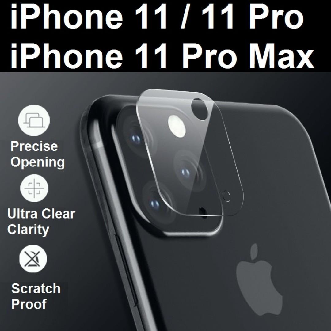 iPhone 11 / iPhone 11 Pro Max Camera Lens HD Protector