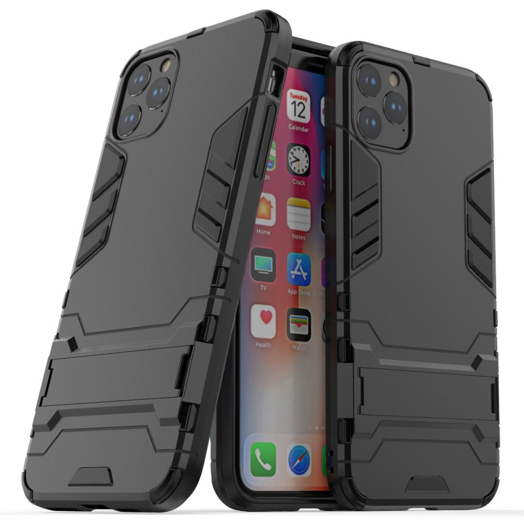 iPhone 11 / iPhone 11 Pro Max Iron Man Stand Phone Case