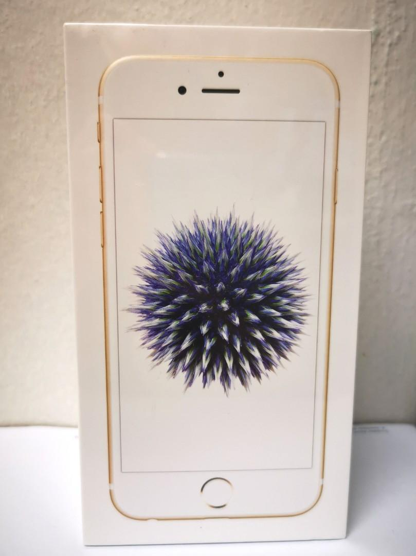 IPhone 6, gold, 32 gb, brand new, unopened but no warranty