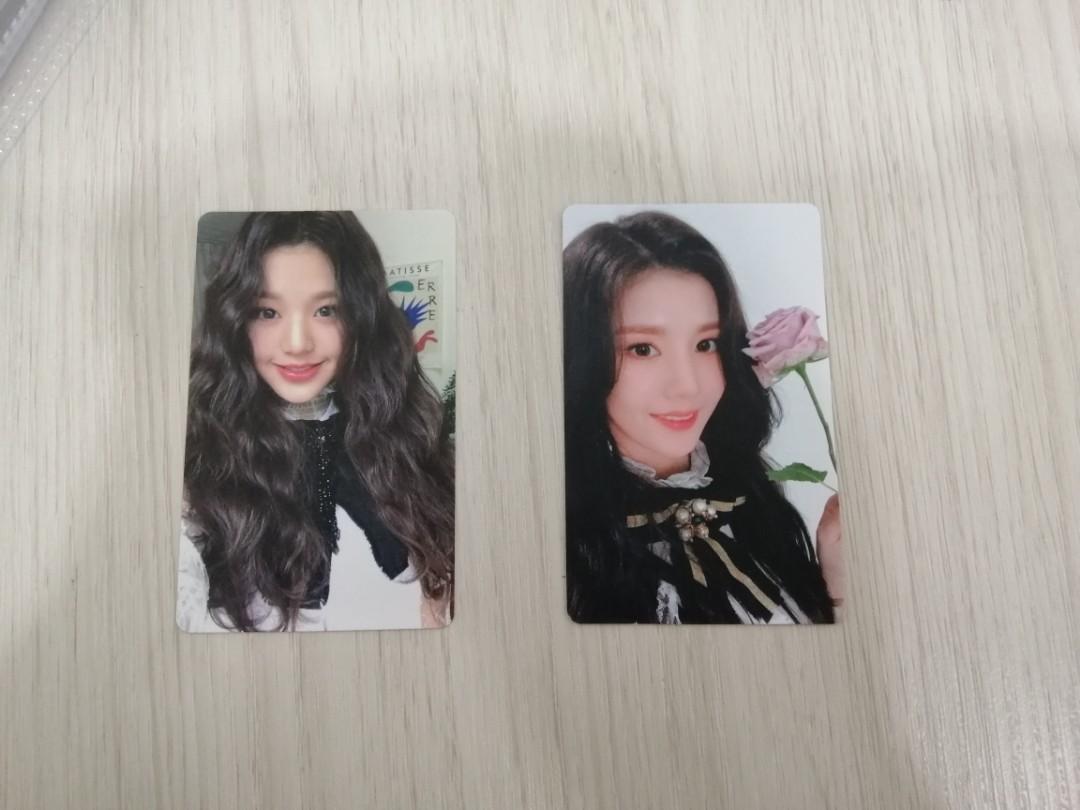 IZ*ONE Color*iz Official WonYoung and Eunbi Photocard