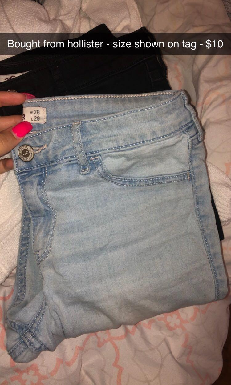 Jeans and shorts! Click photos for pricing and size