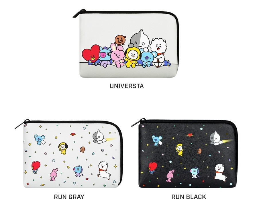 [KOREA PS/NO EMS] BT21 BTS MONOPOLY PU CABLE POUCH