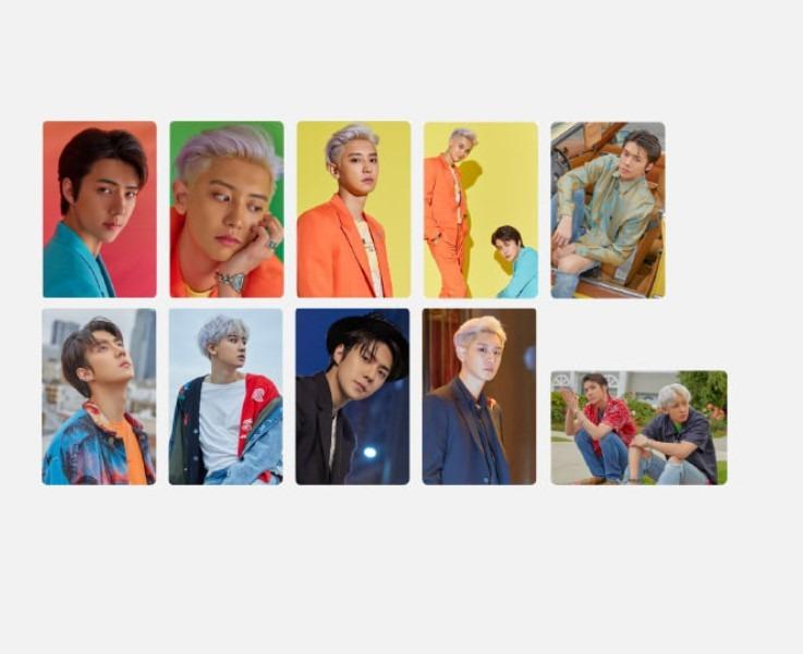 [KOREA PS/NO EMS] EXO-SC : STICKER PACK - WHAT A LIFE