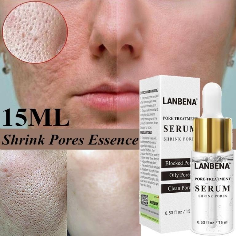 Lanbena Pore Minimizer Serum Blackhead Remover Repair Skin Care