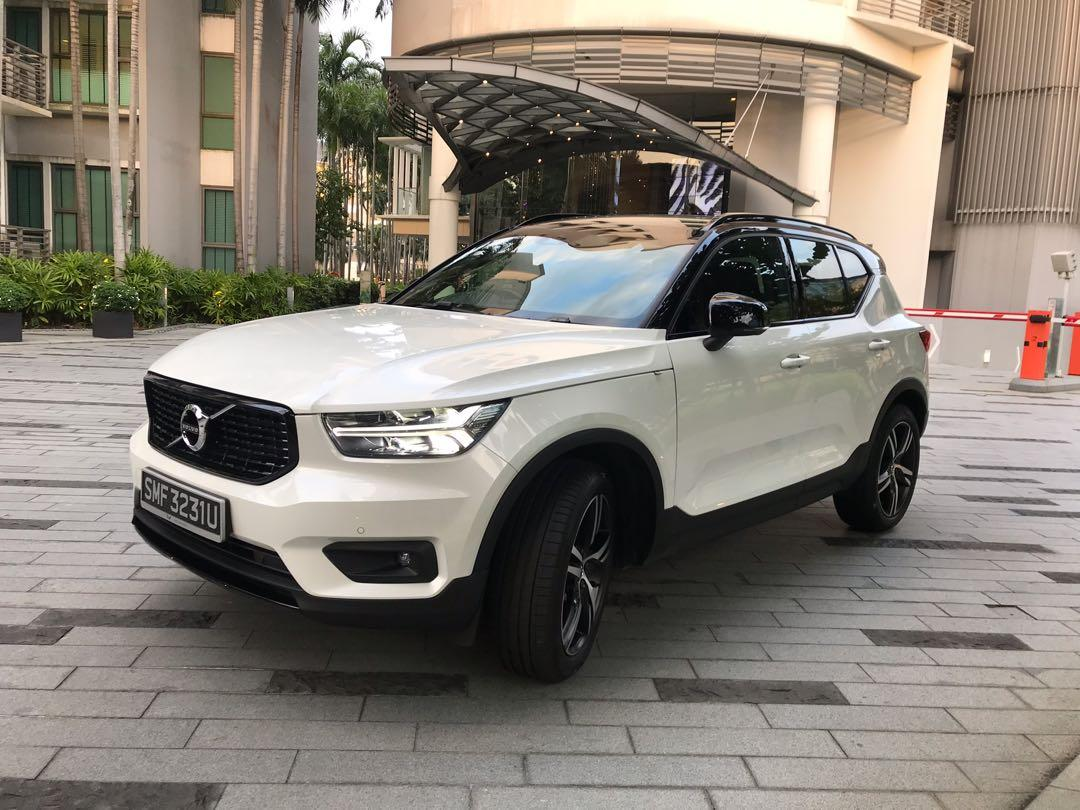 Lease takeover Volvo XC40 T4 R-Design (with sunroof)