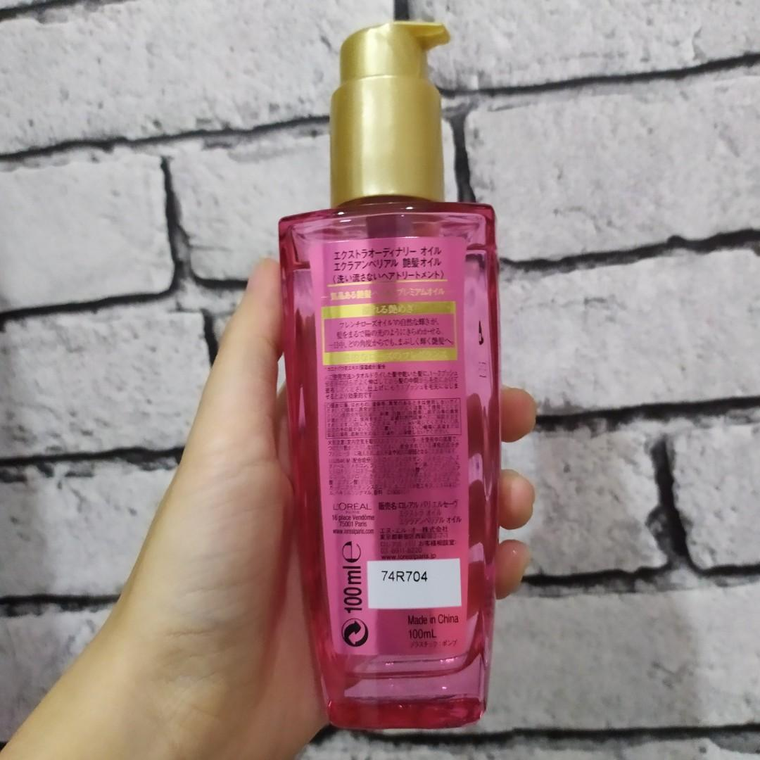LOreal Extraordinary Oil Pink