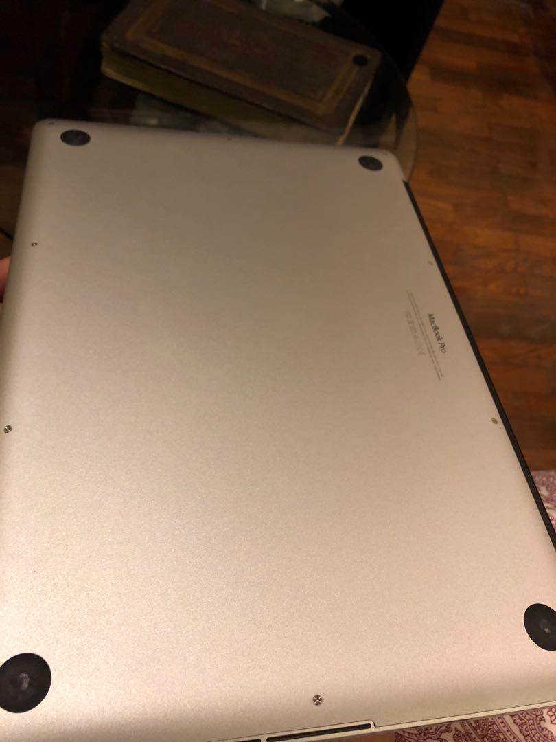 MacBook Pro 15 inch Mid 2015