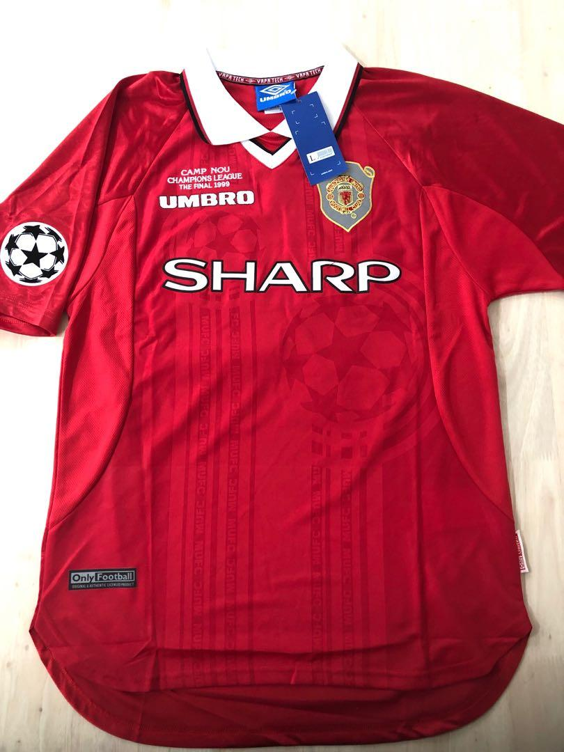 Manchester United 99 Jersey Jersey On Sale