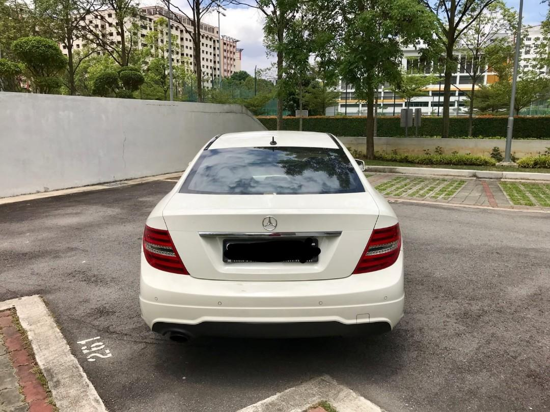 Mercedes-Benz C180 Coupe BlueEfficiency Style (A)