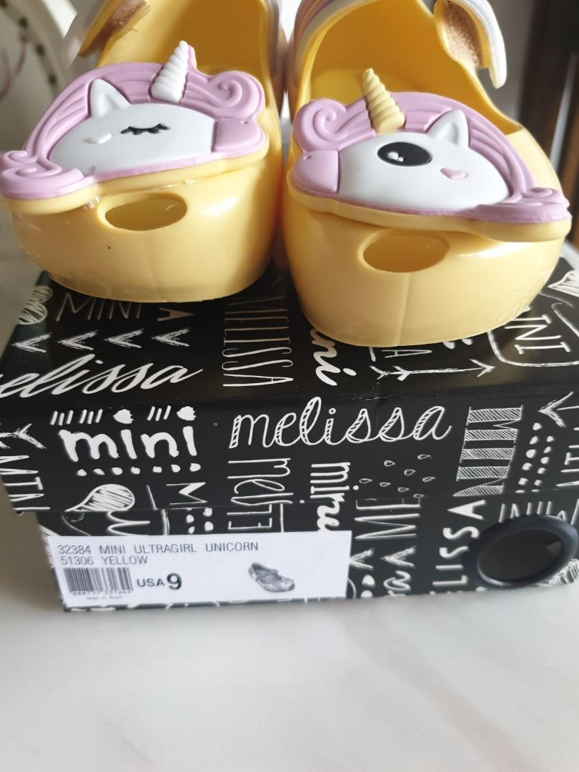 Mini Melissa ultragirl unicorn Shoes