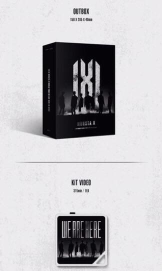 MONSTA X - 2019 MONSTA X WORLD TOUR [WE ARE HERE] IN SEOUL KiT VIDEO