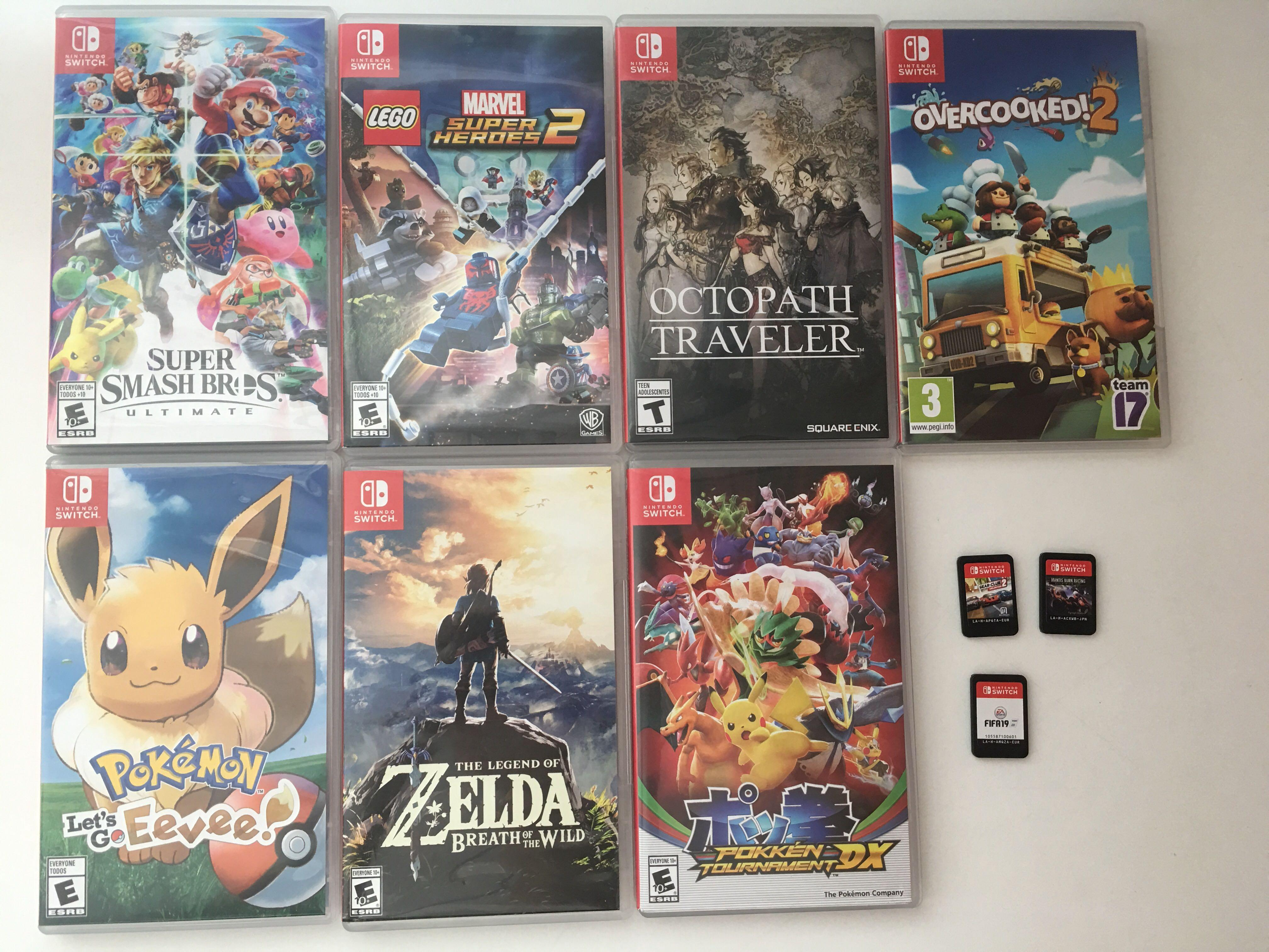 Nintendo Switch Games (Updated)
