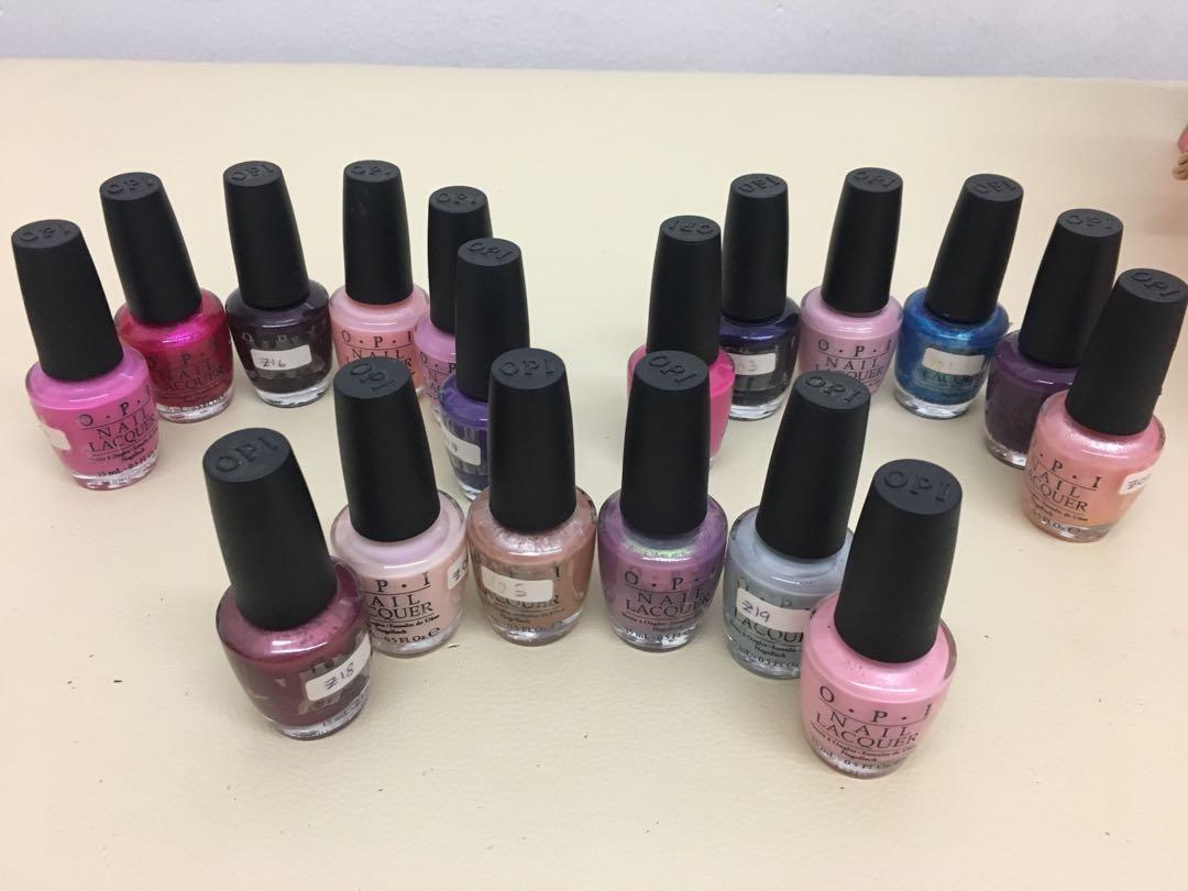 Opi Nail Polish All Item Fast Deals 70 Health Beauty