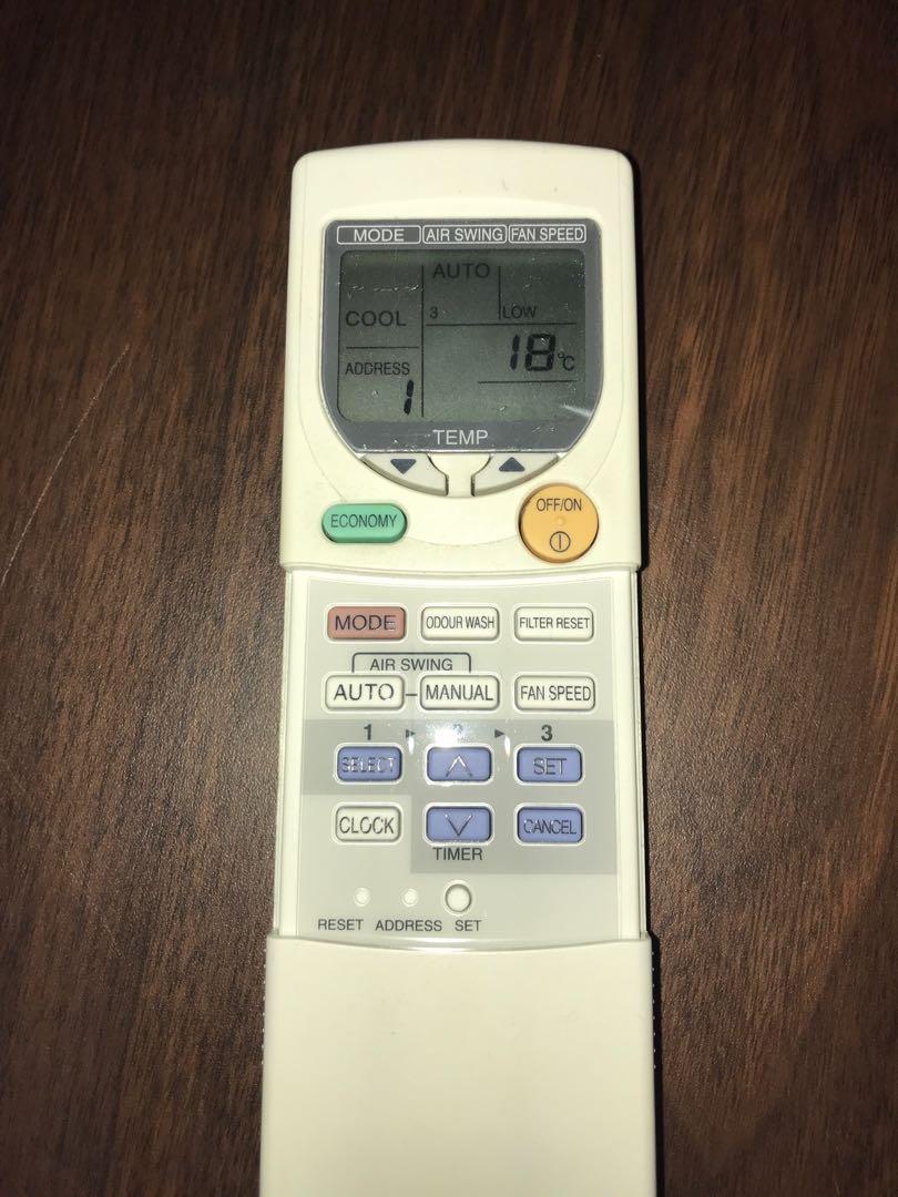 PANASONIC cassette aircon 36000 BTU 4HP