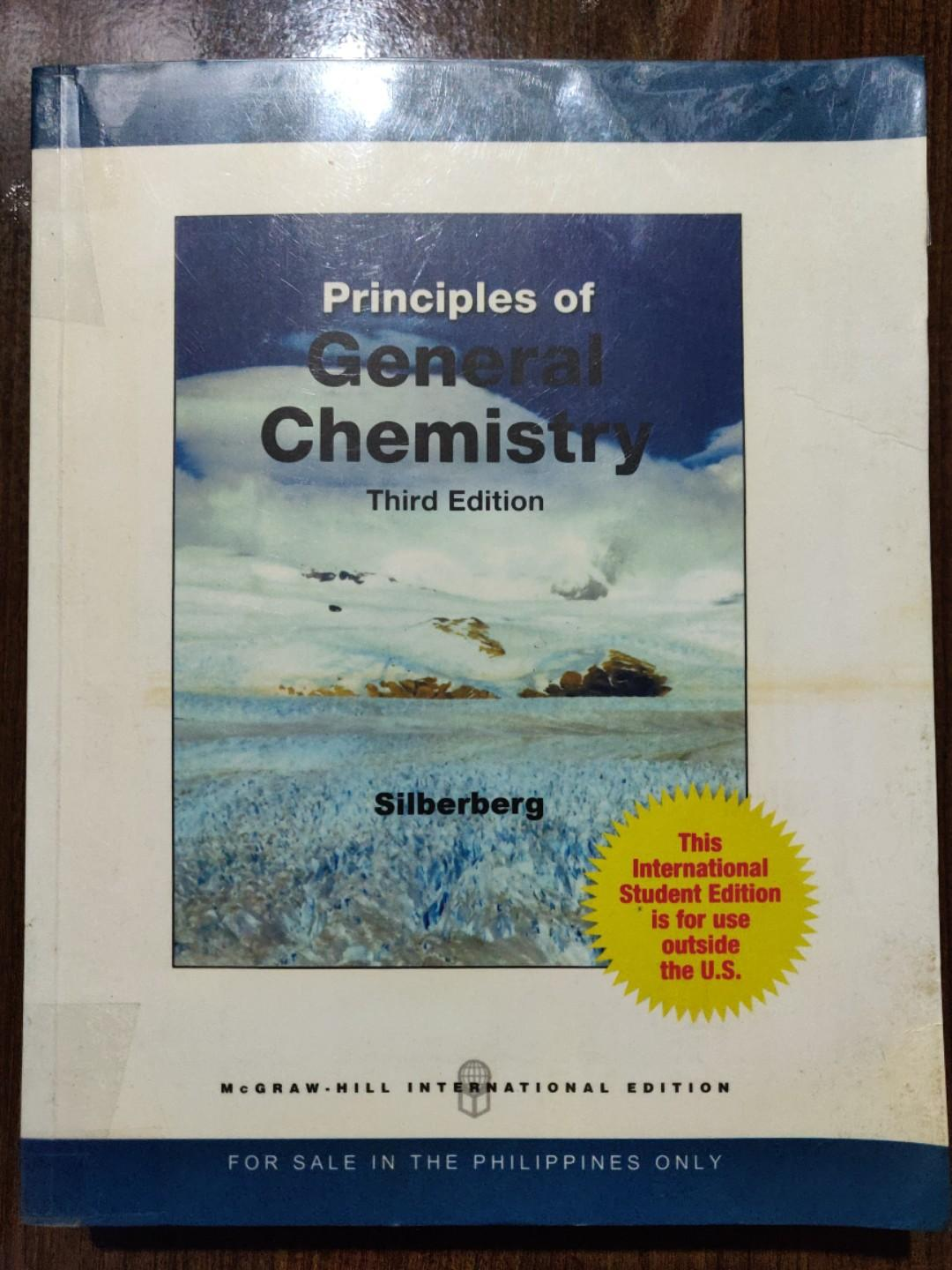 Principles Of General Chemistry 3rd Edition By Silberberg Hobbies Toys Books Magazines Textbooks On Carousell