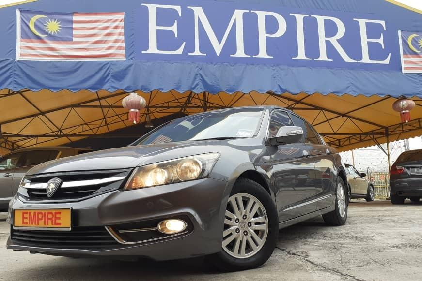 PROTON PERDANA PREMIUM EXECUTIVE 2.0 E (A) 16 VALVE DOHC !! 4 CYLINDER IN LINE !! 6 SPEED AUTOMATIC TRANSMISSION !! 155 H/P 189 NM !! PREMIUM EXECUTIVE FULL HIGH SPECS !! ( WX 559 X ) USED BY MALAYSIA GOVERNMENT 1 SENIOR MINISTER !!