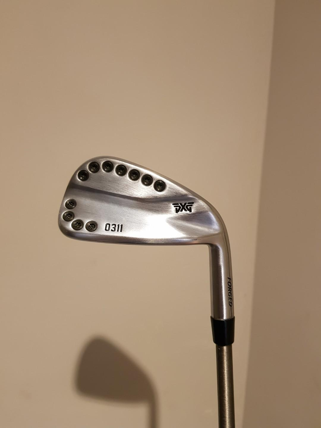 PXG 0311 golf iron  7  plus Steelfiber shaft
