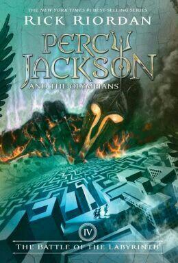 Rick Riordan's Percy Jackson And The Olympians Book 4: The Battle Of The Labyrinth