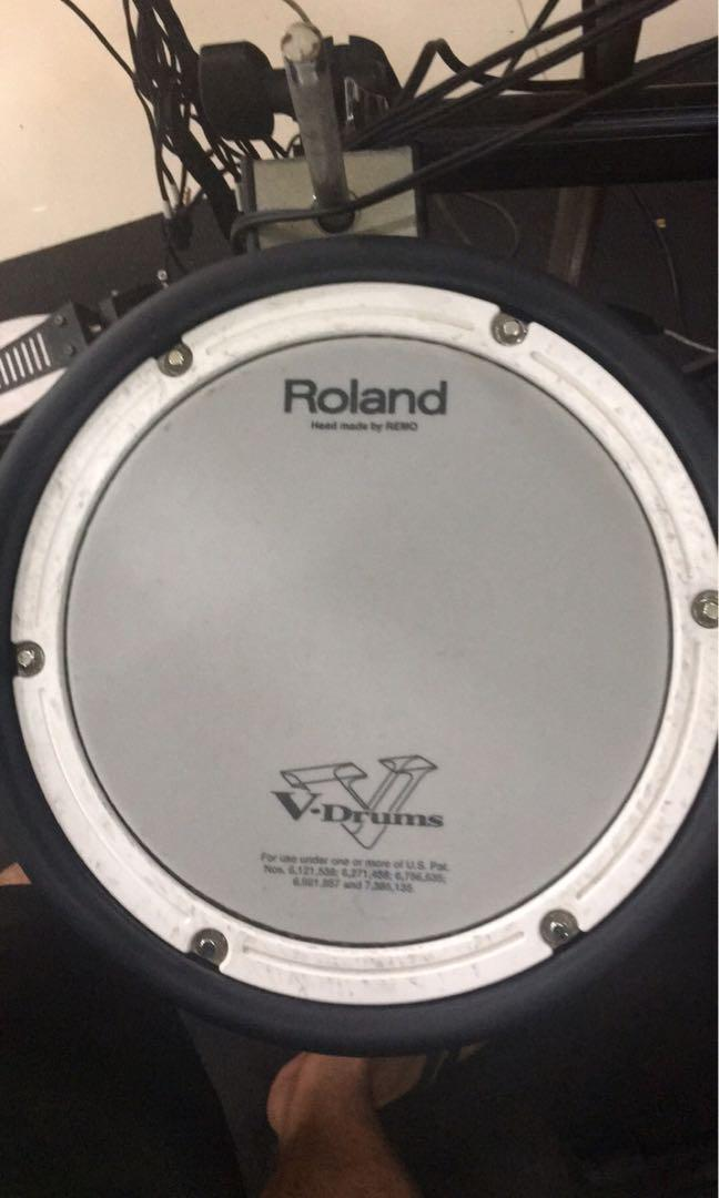 Roland PDX-8 PDX8 Double Trigger  Mesh Snare Pad