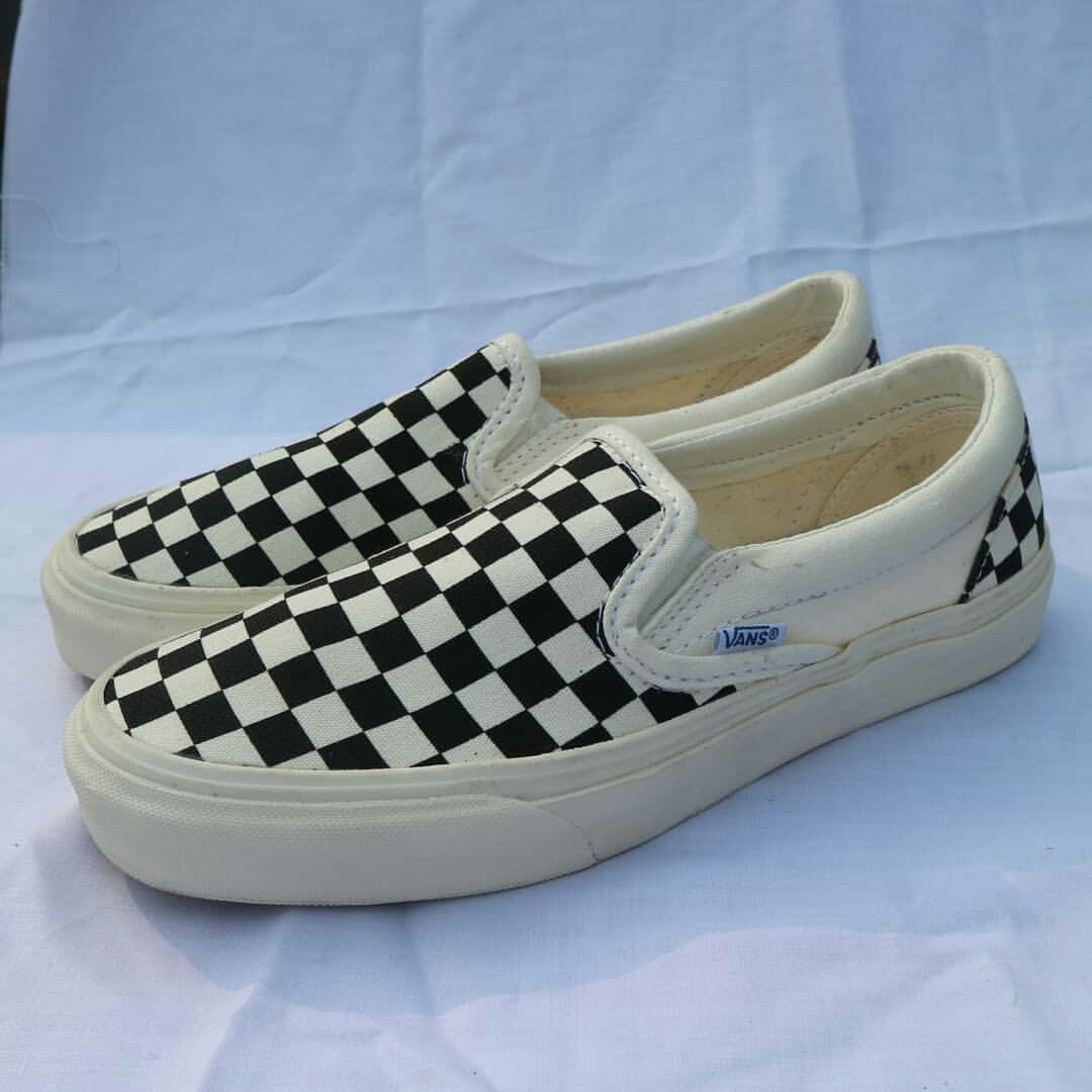 Sepatu Vans Slipon Checkerboard