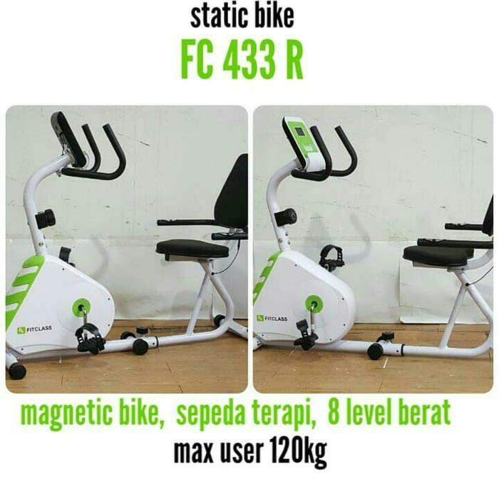 Sepeda Statis FC 433R recumbent terapi sepeda statis / alat fitness / olahraga
