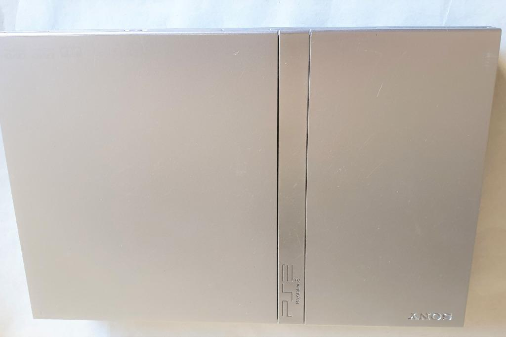 Sony Playstation 2 PS2 Slim Silver SCPH-75001 Console