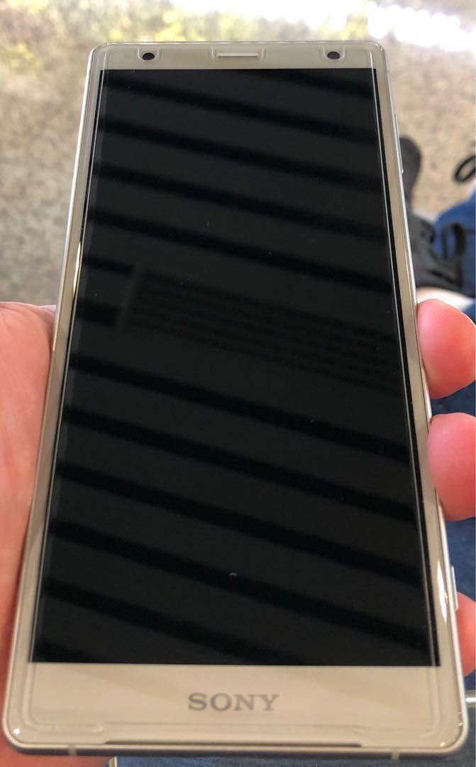 Sony XZ2 Silver White