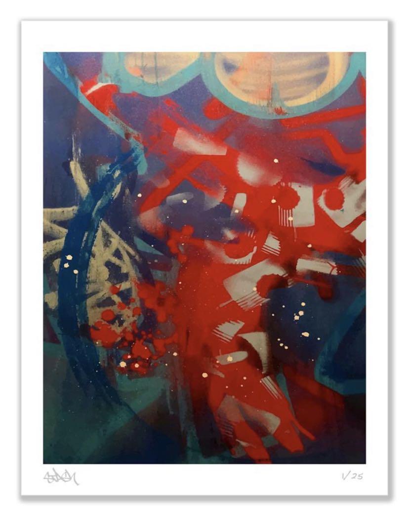 Stash - Fine Art Print Limited 25 only, Futura Kaws Ron English Banksy Obey