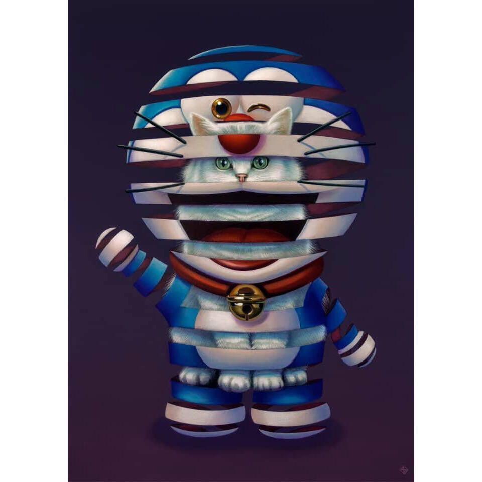 Super A - Doraemon Art Print Limited Edition of 35 全球限量35張 亞洲限定