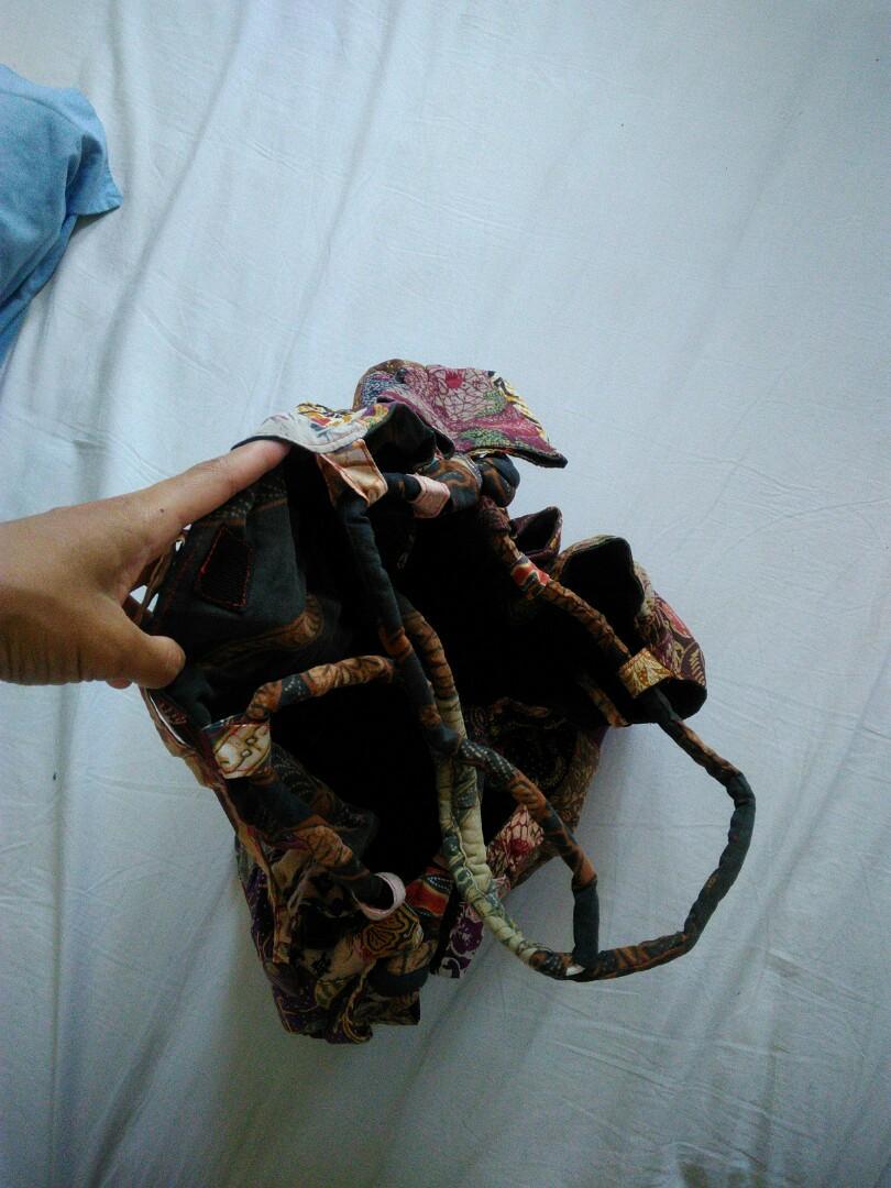 Tas batik dari yogyakarta