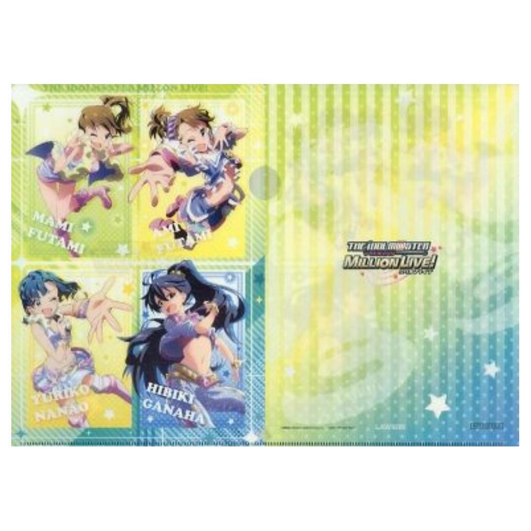 THE iDOLM@STER Million Live! x Lawson - Mami Futami, Ami Futami, Yuriko Nanao, Hibiki Ganaha - Clear File