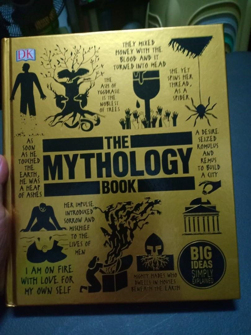 The Mythology Book - Greek, Roman, Europe, American, Egyptian, ans Asian Mythology