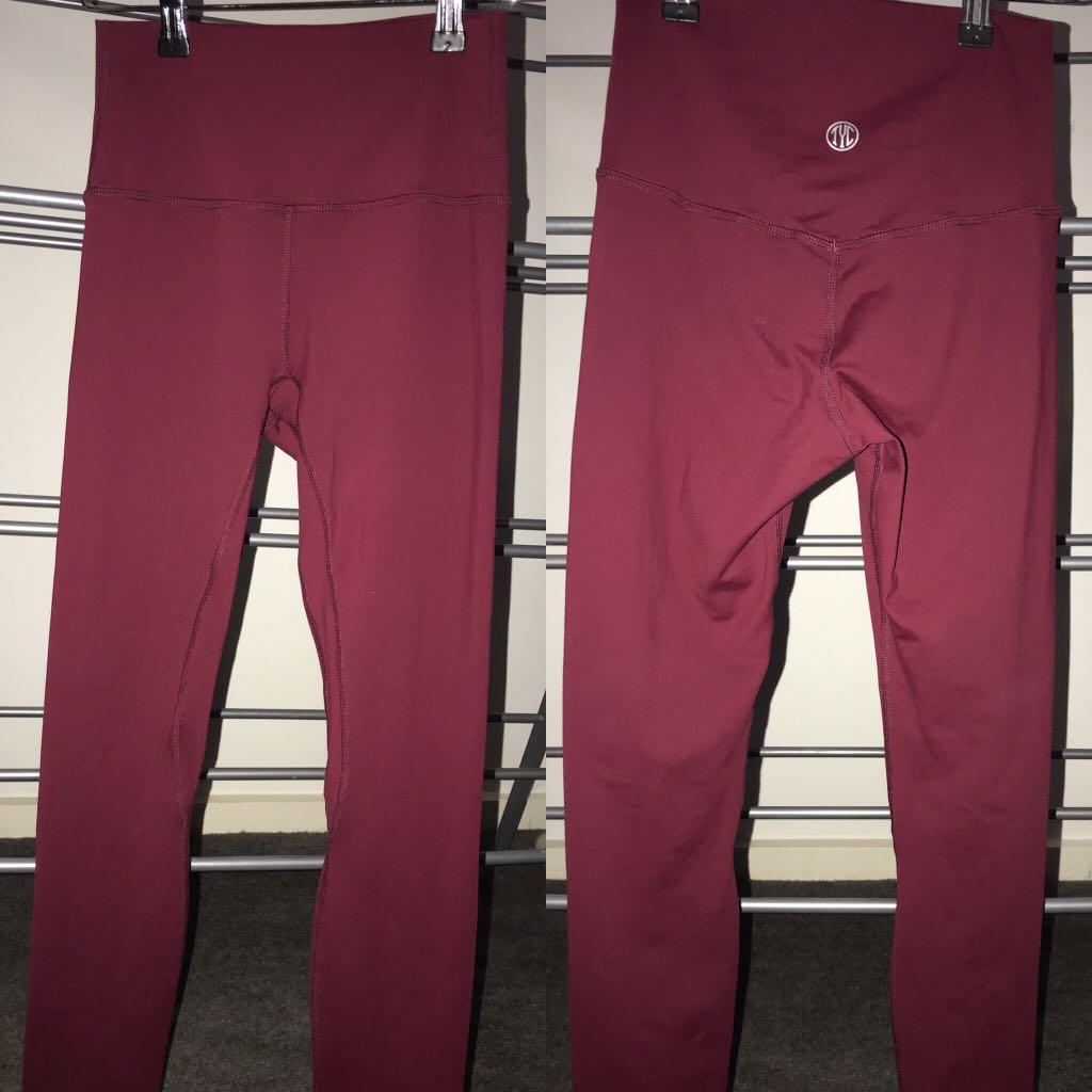 Tilyoucollapse Resilient Classic Leggings - Cranberry XS