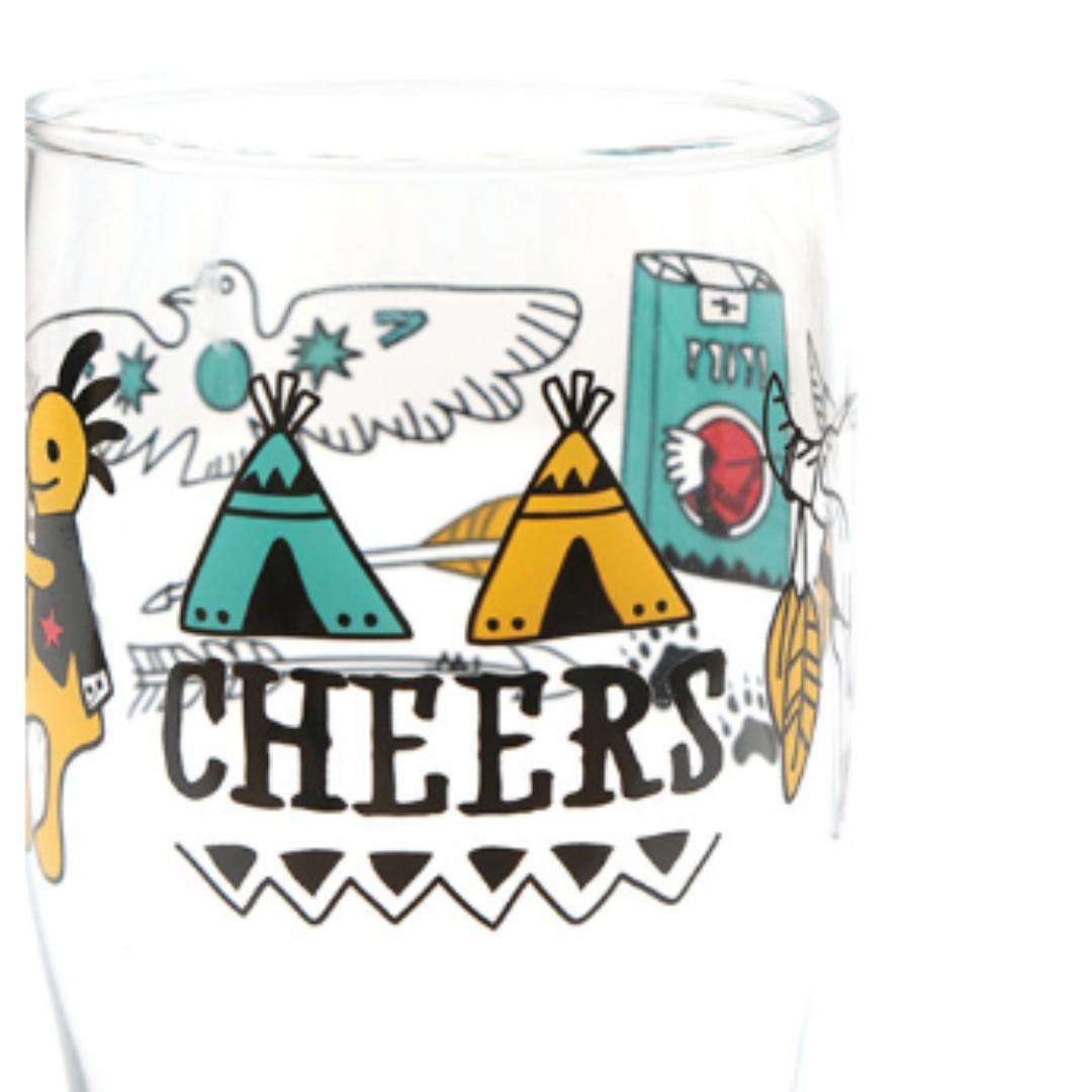 日本製TITICACA啤酒果汁玻璃杯