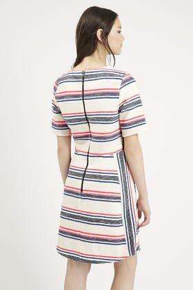 💙 Topshop Stripe Dress