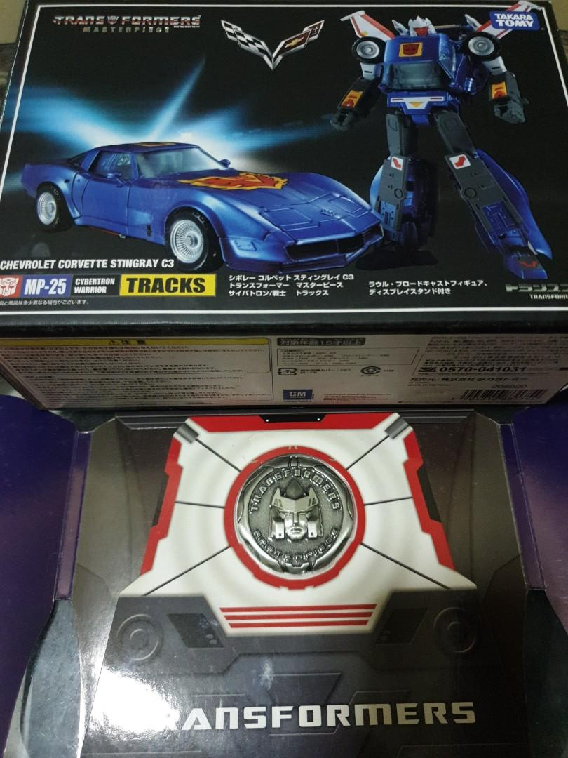 Transformers Masterpiece MP 25 Tracks