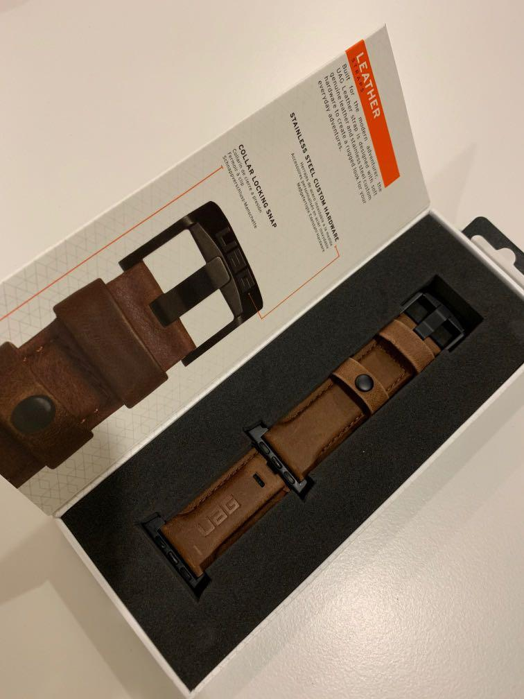 UAG Apple Watch series 4 leather strap