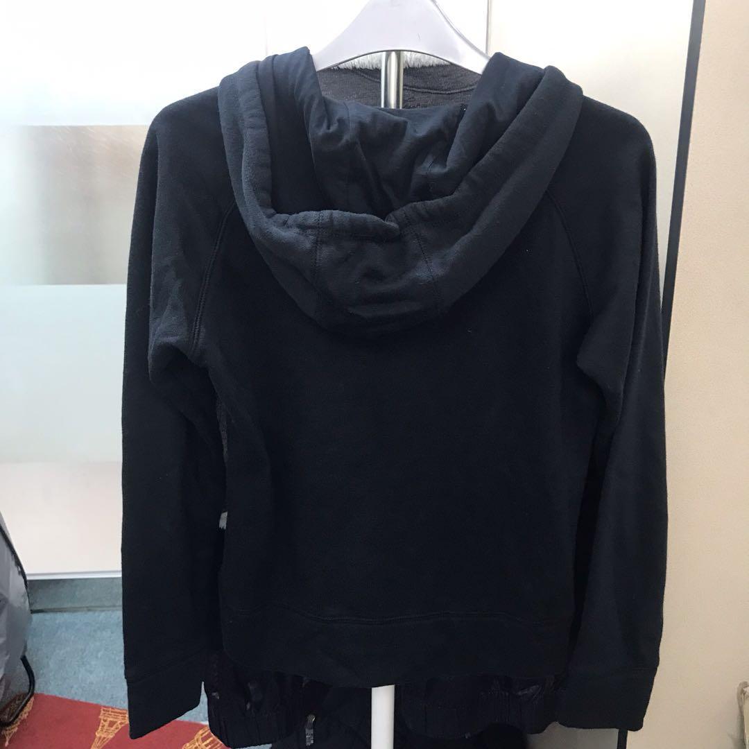 USA universal studio slip up black hoodie S/M