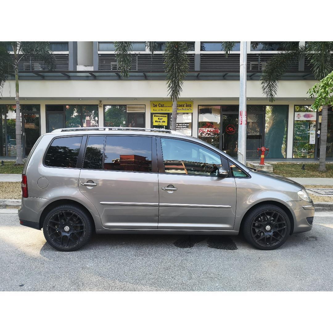 Vw Touran 7 Seater MPV for Rent